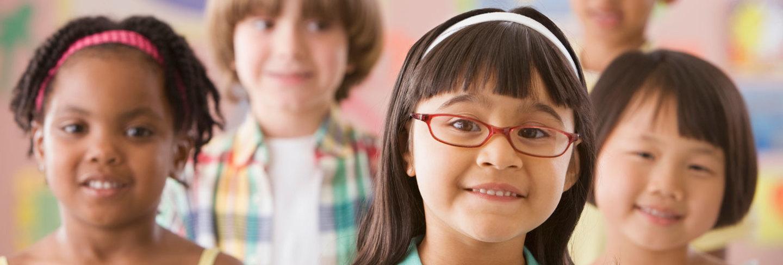 Multi ethnic schoolkids